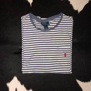 Polo Ralph Lauren striped pocket tee, size XL